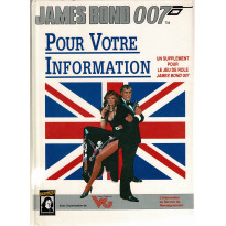 Pour Votre Information (jdr James Bond 007 en VF) 007