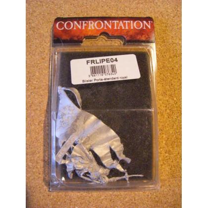 Porte-étendard royal (blister de figurine Confrontation en VF) 002