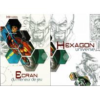 Hexagon Universe - Ecran du Meneur de Jeu & livret (jdr XII Singes en VF) 001