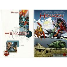 Hexagon Universe - Hexagon 03 + BD tirage limité (jdr XII Singes en VF)
