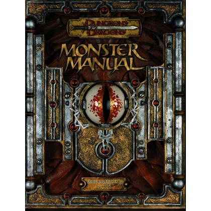 monster manual - core rulebook iii v.3.5 (jdr d&d 3.5 en vo