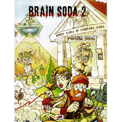 Brain Soda 2 - Peplum Soda (jdr des éditions Oriflam en VF) 001