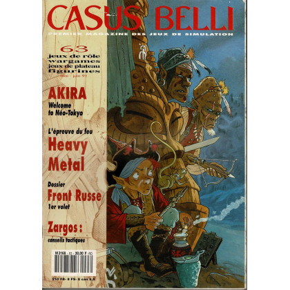 Casus Belli N° 63 (Premier magazine des jeux de simulation) 010