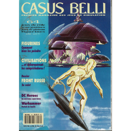Casus Belli N° 64 (Premier magazine des jeux de simulation) 007