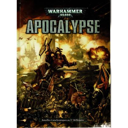 Apocalypse - Batailles cataclysmiques au 41e Millénaire (jeu figurines Warhammer 40,000 V6 en VF) 001