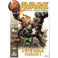 Ravage N° 6 (le Magazine des Jeux de Figurines Fantastiques)