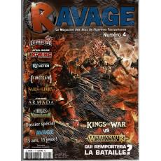 Ravage N° 4 (le Magazine des Jeux de Figurines Fantastiques)