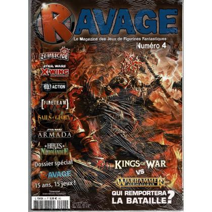 Ravage N° 4 (le Magazine des Jeux de Figurines Fantastiques) 002