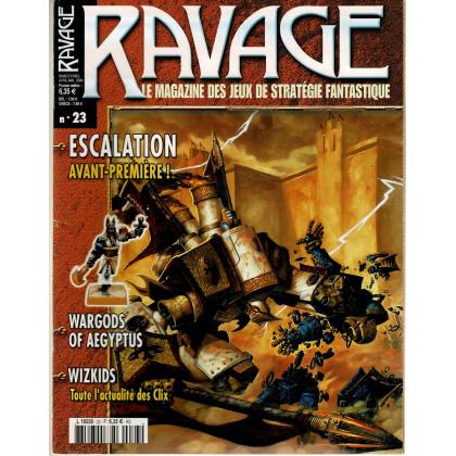 Ravage N° 23 (le Magazine des Jeux de Stratégie Fantastique) 002