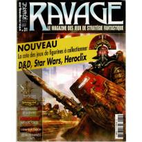 Ravage N° 31 (le Magazine des Jeux de Stratégie Fantastique)