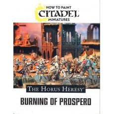 How to paint Citadel Miniatures - The Horus Heresy - Burning of Prospero (jeu Warhammer 40,000 en VF)