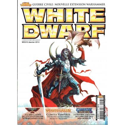 White Dwarf N° 213 (le mensuel du hobby Games Workshop en VF) 001