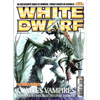 White Dwarf N° 208 (le mensuel du hobby Games Workshop en VF) 001