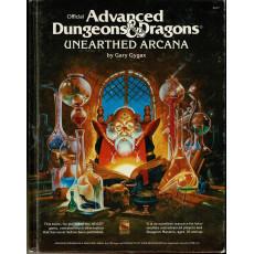 Unearthed Arcana (jeu de rôle AD&D 1ère édition en VO)