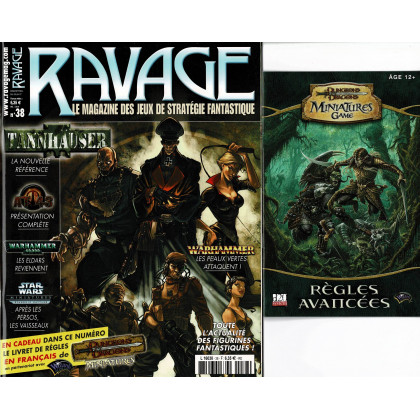 Ravage N° 38 (le Magazine des Jeux de Figurines Fantastiques) 002