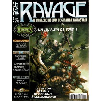 Ravage N° 33 (le Magazine des Jeux de Stratégie Fantastique) 002