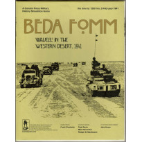 Beda Fomm - Wavell in the Western Desert, 1941 (wargame Consimpress en VO)