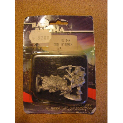 Ogre Spearmen (blister de figurines Fantasy Ral Partha) 001