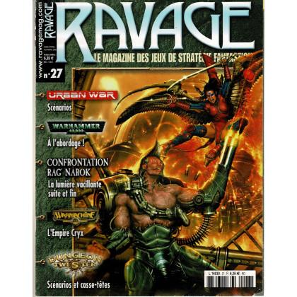 Ravage N° 27 (le Magazine des Jeux de Stratégie Fantastique) 001