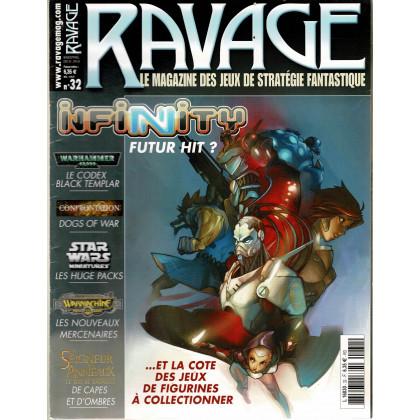 Ravage N° 32 (le Magazine des Jeux de Stratégie Fantastique) 001