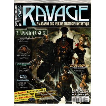 Ravage N° 38 (le Magazine des Jeux de Figurines Fantastiques) 003