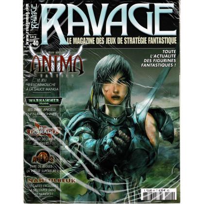 Ravage N° 40 (le Magazine des Jeux de Stratégie Fantastique) 002