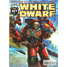White Dwarf N° 107 (magazine de jeux de figurines Games Workshop en VF)