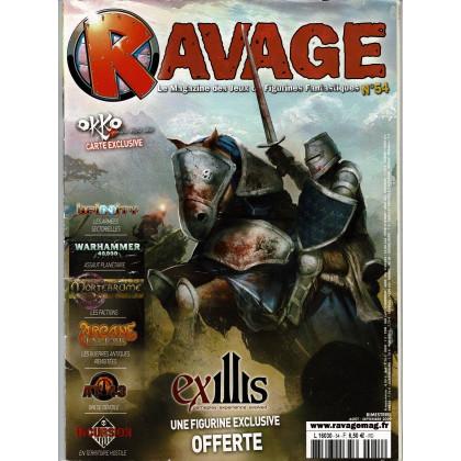 Ravage N° 54 (le Magazine des Jeux de Figurines Fantastiques) 001