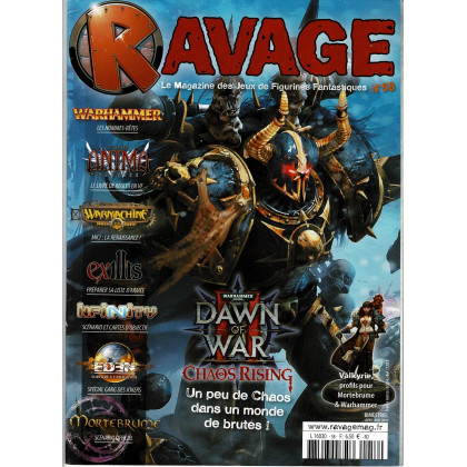 Ravage N° 58 (le Magazine des Jeux de Figurines Fantastiques) 001