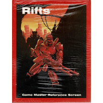 Rifts - Game Master Reference Screen (Rpg Palladium Books en VO) 001