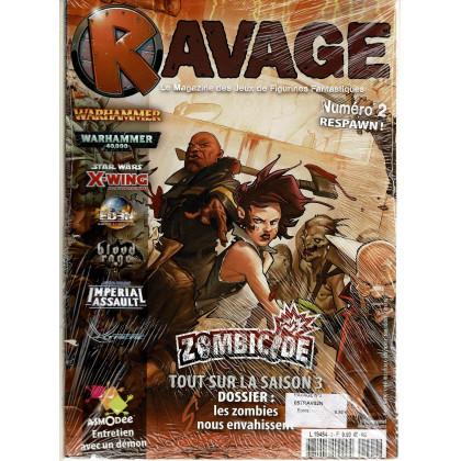 Ravage N° 2 Respawn (le Magazine des Jeux de Figurines Fantastiques) 002