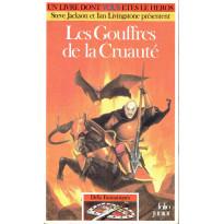 512 - Les Gouffres de la Cruauté (Un livre dont vous êtes le Héros - Gallimard) 001