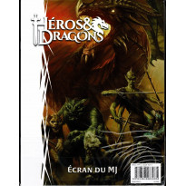 Héros & Dragons - Ecran du MJ (jdr de Black Book en VF)