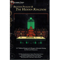 Brother Ptolemy & The Hidden Kingdom (jdr Dungeons & Dragons 4 en VO)
