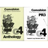 Convulsion The Next Generation - C4 Anthology (jdr Runequest en VO) 001