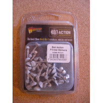 Pinned Markers (25) (blister accessoire figurines Bolt Action en VO) 001