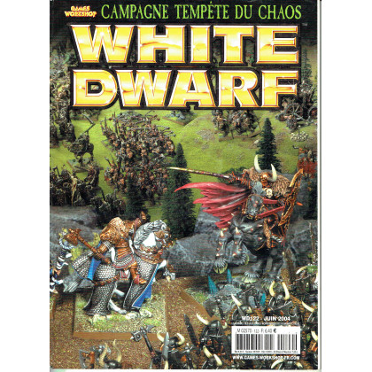 White Dwarf N° 122 (magazine de jeux de figurines Games Workshop en VF) 001