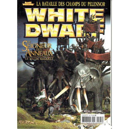 White Dwarf N° 124 (magazine de jeux de figurines Games Workshop en VF) 001
