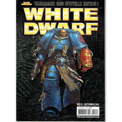 White Dwarf N° 125 (magazine de jeux de figurines Games Workshop en VF) 001