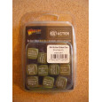 Order Dice (12) - Olive Drab (blister accessoire figurines Bolt Action en VO) 001
