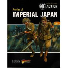 Armies of Imperial Japan (livre d'armée Bolt Action en VO)