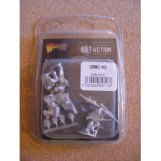 USMC HQ (blister figurines Bolt Action en VO)