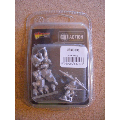 USMC HQ (blister figurines Bolt Action en VO) 001
