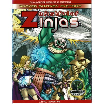 A Fisful of Zinjas (jdr Dungeons & Dragons 4 en VO) 001