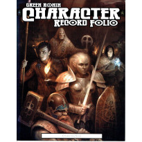 Character Record Folio (jdr D20 System de Green Ronin en VO) 001