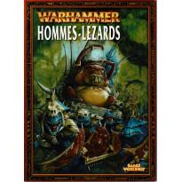 Warhammer - Hommes-Lézards (livret d'armée jeu de figurines V6 en VF)