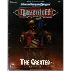 Ravenloft - RM2 The Created (jdr AD&D 2e édition en VO)