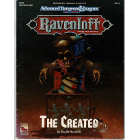 Ravenloft - RM2 The Created (jdr AD&D 2e édition en VO) 002