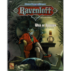 Ravenloft - RM3 Web of Illusion (jdr AD&D 2e édition en VO)