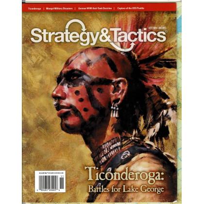 Strategy & Tactics N° 277 - Ticonderoga 1755-1758 (magazine de wargames en VO) 001